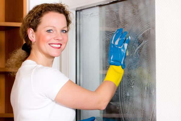 Die Haushaltstalente Fenster Putzen