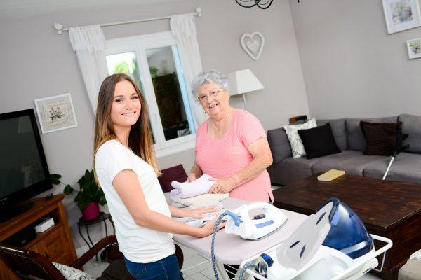 Die Haushaltstalente Senioren Bügeln